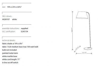 LV - Beton Floor Lamp