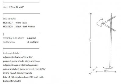 LV - Jethro Floor Lamp
