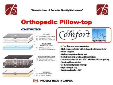 LV - Orthopedic Pillow Top