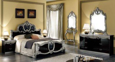 LV - Barocco - Black and Silver
