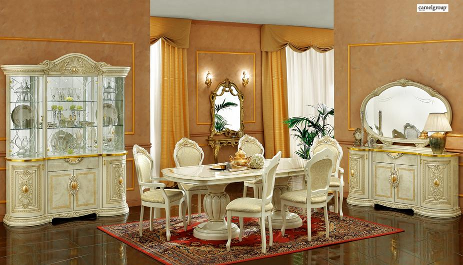 Admirable Formal Dining Table Lv Leonardo E S F Furniture Store Download Free Architecture Designs Pushbritishbridgeorg